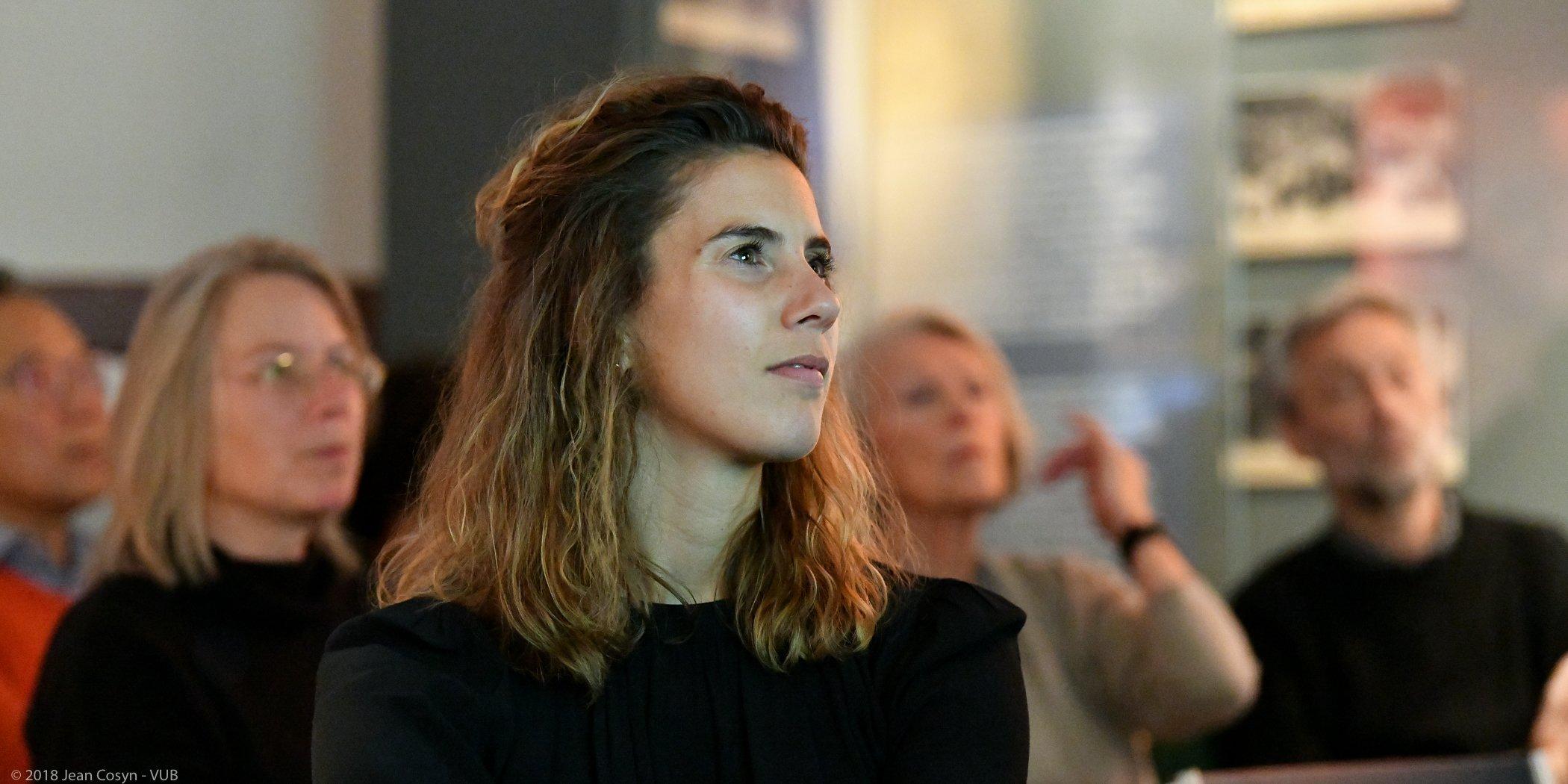 20181123-013 VUB MoMuse Sophie DS Boekvoorstelling